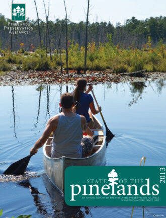 2013 State of the Pinelands cover