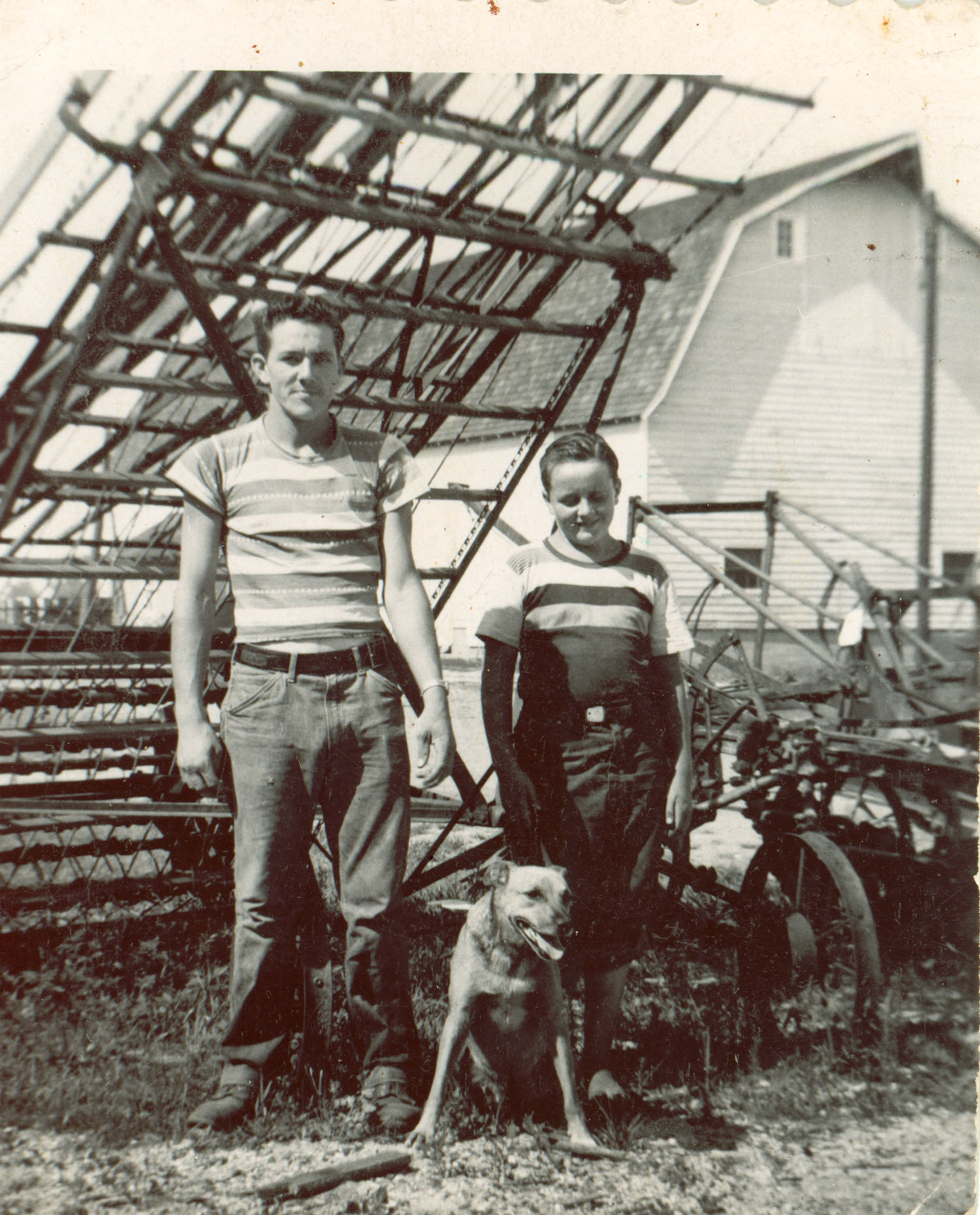 Bishop Farmstead - Historical Images - Robbins Boys