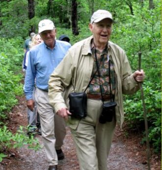 Ever Green Gerald Vriens and Charlie Chapin Hiking Black Run