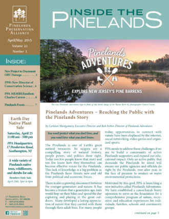 Inside the Pinelands April May 2015