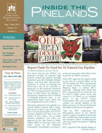 inside the pinelands august sept 2017 cover