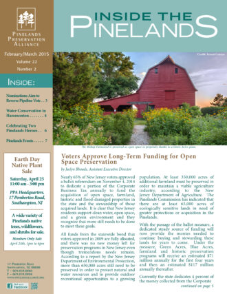Inside the Pinelands Feb March 2015