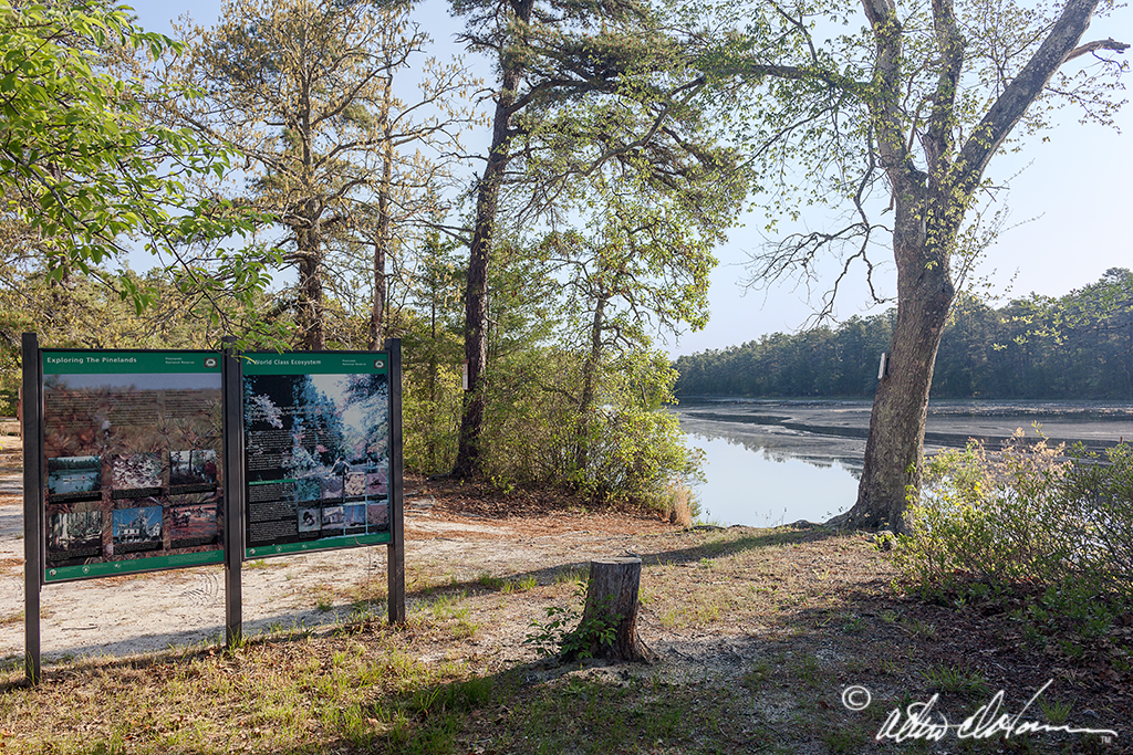 Pinelands Exploration Map Harrisville Al Horner