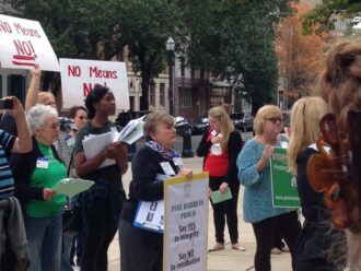 State House Rally Oct 16 2014