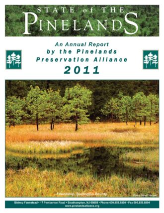 State of the Pinelands 2011 Cover