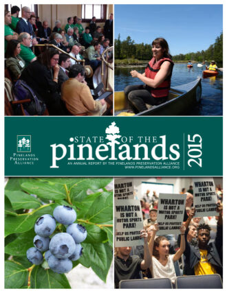 State of the Pinelands 2015 cover