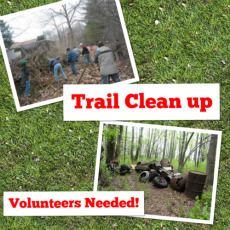 trail clean up