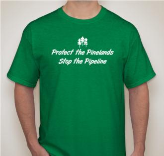 Tshirt Protect the Pinelands