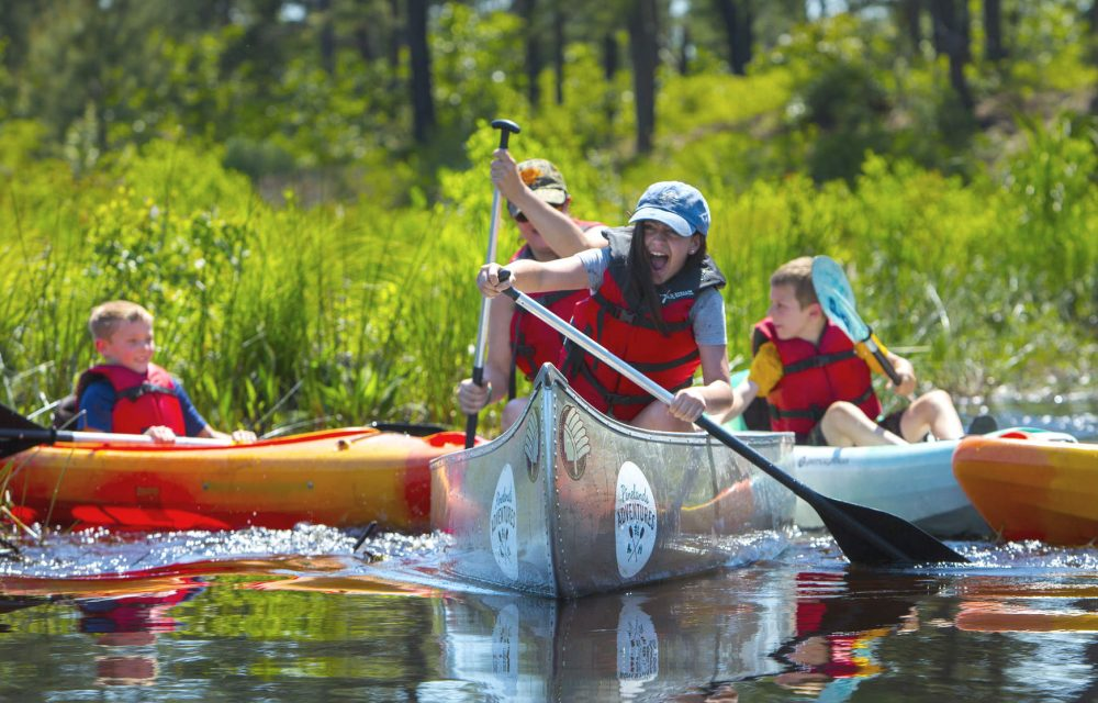 Pinelands Adventures offers outdoor fun for all ages.