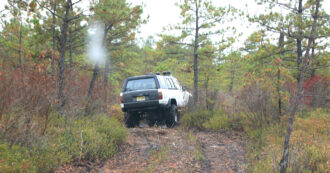illegal off road vehicle new jersey pine barrens