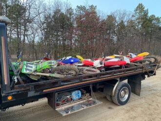 confiscated ATVs