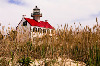 East Point Lighthouse by David Colby