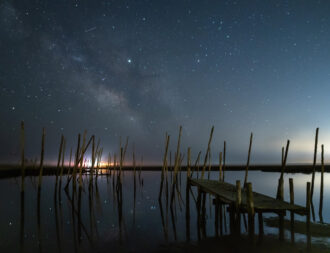 Milkyway Over Great Bay by Brian Collins
