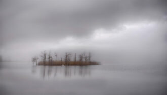 Island In The Mist by Thomas Dolan