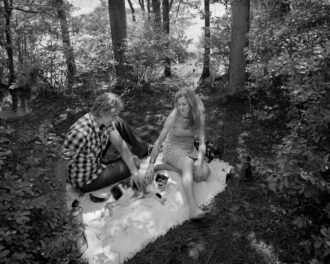 Last Picnic in the Pines with Koo by Mike Neuhaus