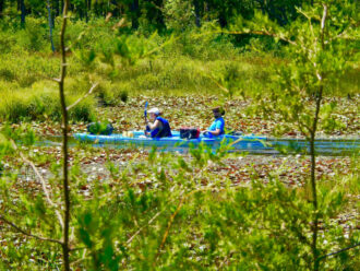 Kayaking in the Pinelands by Santford Overton