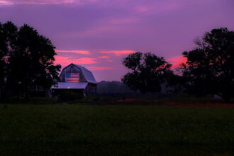 A Fourth Of July Sunrise by Jaime Philpot