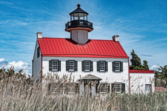 East Point Lighthouse by Pat Steo