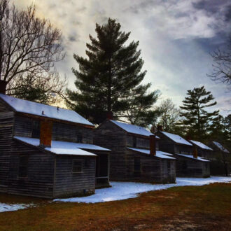 Batsto Village - Cabins by Chris Wagner