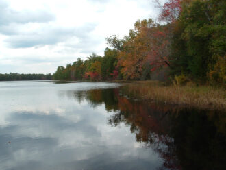 Lake in the Fall by Alfred J. Dansbury
