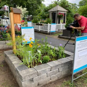PPA display at Flower Show 2021